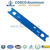 Panel de la placa frontal de aluminio para la electrónica con ISO9001 y TS16949 Certificado