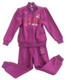 Camisola Hoodies do terno de trilha da forma do lazer na roupa das crianças para o desgaste Swg-125 do esporte