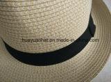 poliester de 90%Paper el 10% con los sombreros del sombrero de ala de la mezcla de color
