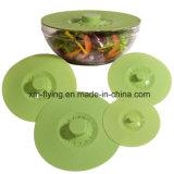 Set FDA 5 der hitzebeständigen Standardsilikon-Absaugung-Filterglocke, Wanne, Cup, Behälter-Kappen