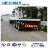 Tri de l'essieu 40FT de cargaison de conteneur remorque de camion semi avec l'essieu de BPW