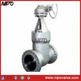 Valvola a saracinesca ad alta pressione del dispositivo di tenuta a pressione dell'acciaio di getto