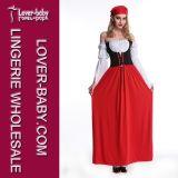 Одежды костюма причудливый платья для взрослого (L15308)