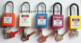 Lockout de aço Safety Series Padlock com grilhão de Nylon