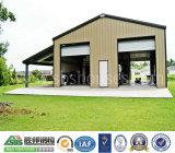 A instalação da casa do armazenamento do carro de aço, a simples e a rápida