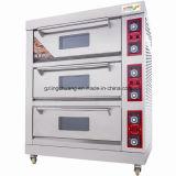 Four électrique de paquet d'acier inoxydable de qualité avec le four de boulangerie de paquets de la vapeur 3