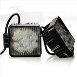 道SUV車の長方形車LED作業ライトを離れたのための高品質27Wライト