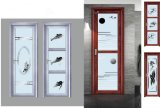 Lowesのスライドガラスのテラスのアルミ合金のドア