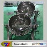 Шевелить-Свободно опрокидывая чайник топления пара 100L Jacketed