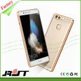 Caja de electrochapado móvil del teléfono del caucho TPU del teléfono para Huawei P9