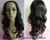 Cheveu synthétique femelle de Remy de perruque bouclée neuve de mode