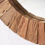 新しい到着のホーム装飾のための木製の円形の創造的な組み立てられた壁ミラー
