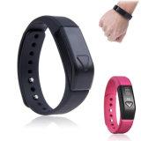 Het Slimme Horloge van de Pedometer OLED van het Spoor van de Slaap van de Sport van Gelbert Bluetooth4.0