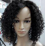 peluca natural del pelo del enrollamiento rizado 22inch