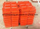 Plaat de van uitstekende kwaliteit van de Kaak van het Mangaan van de Maalmachine van de Kaak