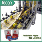 Sacos de papel colados automáticos da válvula que fazem a maquinaria