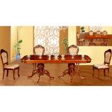 A mobília da sala de jantar ajustou-se com a cadeira de madeira da tabela e do jantar (H831)