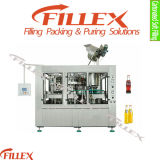 ビールTribloc Rinser Filler Capper 3in1 Bottle Filling Machine