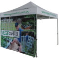 Aluminum 폴란드를 가진 Customed Pringted Your Logo Folding Tent