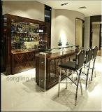 Luxushotel-Gaststätte-Verein-Möbel hölzerner hoher Barstool Stuhl