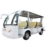 Hdk 8 Seater 후방 바구니를 가진 전기 관광 근거리 왕복 버스