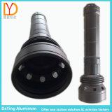 CNC Anodizing Difference Shape Aluminum Caso para o diodo emissor de luz Torch