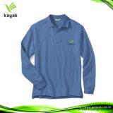 Camiseta larga unisex modificada para requisitos particulares nueva llegada de la funda de la manera del invierno (P-56)