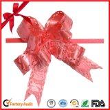 Mariposa de la cinta Navidad al por mayor tirar en arco de regalo del paquete