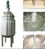 Het Bewegen van het Mengapparaat van de Prijs van de fabriek Mixer van de Tribune van het Roestvrij staal van de Emulgering van het Jasje de Industriële Vloeibare