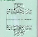 Selo mecânico não padronizado da pasta com Multi-Mola (HT1)