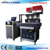 Pantalones vaqueros/tela/máquina de grabado de papel del laser