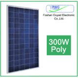 Поли солнечное изготовление модуля 300W PV от фабрики Китая