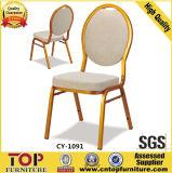 Cadeira Stackable confortável do banquete do hotel do metal da boa qualidade
