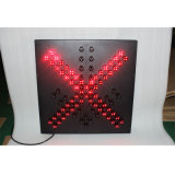 Verkehrszeichen-Licht der Fahrstraße-Anzeigelampen-LED warnendes