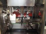 병에 넣어진 해바라기 기름 충전물 기계