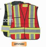 Тельняшка безопасности Hi-Видимости с волшебным плечом ленты (DFV1083)