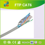 ftp Cable de 23AWG Solid a.C. Conductor Cat-6