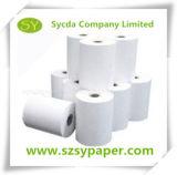 Papel termal del papel de la oficina del rodillo de la caja registradora para la impresión