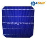 Migliori 156*156mm celle di silicone monocristalline solari di vendita della pila 5bb di Csun