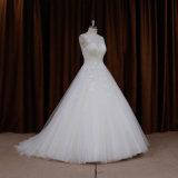 Träumerisches Spitze-Hochzeits-Kleid der Prinzessin-Großhandelspreis