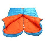 접합된 경량 방수 겨울 성숙한 봉투 구렁 면 슬리핑백