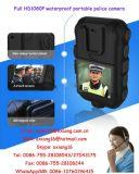 2.0 sustentação sem fio cheia desgastada WiFi /GPS/GPRS de Recorer Zp605 da polícia da câmara de vídeo da câmera HD1080p da polícia da polegada corpo portátil impermeável