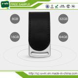 Memória Flash por atacado do USB, vara de couro do USB, movimentação de couro do flash do USB