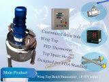 Pasteurizador do grupo do fim do prato com capacidade da pasteurização 500L (séries do P-WD)