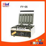 Machine de traitement au four de matériel d'hôtel de matériel de cuisine de machine de nourriture de matériel de restauration de BBQ de matériel de boulangerie de la CE du gril de hot dog de rouleau (FY-5)