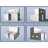 Casa del envase del diseño moderno en China