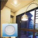 Voyant rond couleur en aluminium élevée du lumen 85-265V de double