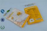 Validar el bolso superior del bloqueo del cierre relámpago del papel de la orden de encargo y del lacre y de la maneta de la cremallera para el alimento