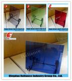 vidrio de cristal laminado del vidrio/PVB /Layered de 10.76m m (claro, rojo, blanco, azul, negro, bronce)