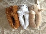 ثلاثة لون نساء قطيفة مخمل أحذية داخليّة ([ر-سل1636])